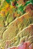 Ζωγραφισμένες στο χέρι αφηρημένες γκουας Στοκ Φωτογραφία