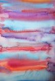 ζωγραφισμένο στο χέρι watercolor α&nu ελεύθερη απεικόνιση δικαιώματος