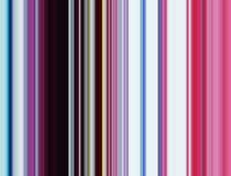 Ζωηρές κόκκινες μπλε γραμμές και αντιθέσεις στα σκούρο μπλε χρυσά χρώματα Στοκ φωτογραφία με δικαίωμα ελεύθερης χρήσης