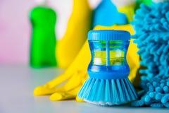 Ζωηρή έννοια καθαρισμού Στοκ φωτογραφίες με δικαίωμα ελεύθερης χρήσης