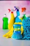Ζωηρή έννοια καθαρισμού Στοκ εικόνες με δικαίωμα ελεύθερης χρήσης