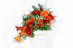 Ζωηρή ανθοδέσμη χρώματος με φρέσκα λουλούδια Στοκ Φωτογραφίες