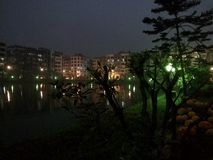 Ζωηρή νύχτα στοκ φωτογραφία με δικαίωμα ελεύθερης χρήσης
