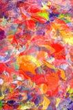 Ζωηρή σύνθεση χρωμάτων ελεύθερη απεικόνιση δικαιώματος