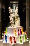 Ζωηρόχρωμα αντίγραφα του αγάλματος αρχαίου Έλληνα της Αφροδίτης de Milo μέσα Στοκ Εικόνες