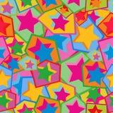 ζωηρόχρωμα αστέρια Στοκ φωτογραφίες με δικαίωμα ελεύθερης χρήσης