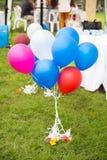 Ζωηρόχρωμα αστεία μπαλόνια Στοκ φωτογραφίες με δικαίωμα ελεύθερης χρήσης