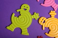 ζωηρόχρωμα λαστιχένια παι&ch Στοκ φωτογραφία με δικαίωμα ελεύθερης χρήσης