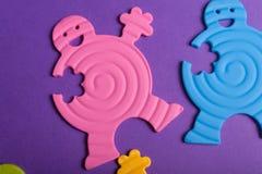ζωηρόχρωμα λαστιχένια παι&ch Στοκ φωτογραφίες με δικαίωμα ελεύθερης χρήσης