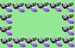 ζωηρόχρωμα αυγά Πάσχας στοκ εικόνα
