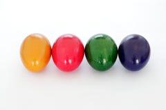 ζωηρόχρωμα αυγά Πάσχας Στοκ φωτογραφίες με δικαίωμα ελεύθερης χρήσης