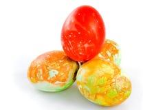 ζωηρόχρωμα αυγά Πάσχας Στοκ Εικόνες