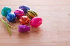 Ζωηρόχρωμα αυγά Πάσχας. Στοκ εικόνα με δικαίωμα ελεύθερης χρήσης