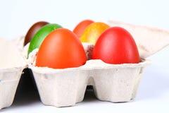ζωηρόχρωμα αυγά Στοκ Εικόνες