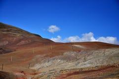 Ζωηρόχρωμα βουνά στοκ φωτογραφίες με δικαίωμα ελεύθερης χρήσης