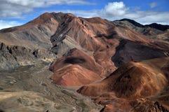 Ζωηρόχρωμα βουνά στοκ φωτογραφία