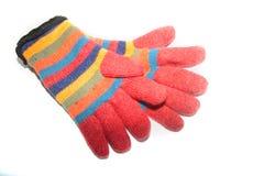 ζωηρόχρωμα γάντια Στοκ φωτογραφίες με δικαίωμα ελεύθερης χρήσης