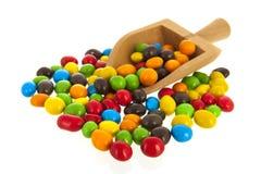 Ζωηρόχρωμα γλυκά ζάχαρης Στοκ φωτογραφία με δικαίωμα ελεύθερης χρήσης