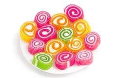 ζωηρόχρωμα γλυκά συρραφών  Στοκ Φωτογραφία
