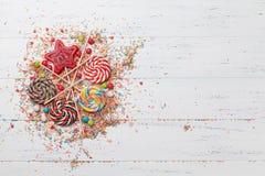 Ζωηρόχρωμα γλυκά στοκ φωτογραφία με δικαίωμα ελεύθερης χρήσης