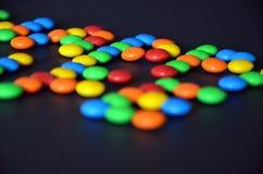 Ζωηρόχρωμα γλυκά bonbons Στοκ εικόνες με δικαίωμα ελεύθερης χρήσης