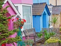 Ζωηρόχρωμα εξοχικά σπίτια Στοκ Εικόνες