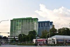 Ζωηρόχρωμα επίπεδα HDB στο κέντρο Rochor στοκ φωτογραφία με δικαίωμα ελεύθερης χρήσης