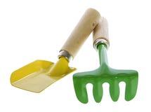 ζωηρόχρωμα εργαλεία δύο &kapp Στοκ Εικόνα
