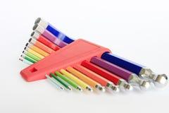 Ζωηρόχρωμα εργαλεία Άλλεν δεκαεξαδικού Στοκ Φωτογραφία