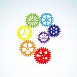 ζωηρόχρωμα εργαλεία Στοκ Φωτογραφίες