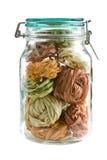 ζωηρόχρωμα ζυμαρικά βάζων &gamma Στοκ εικόνα με δικαίωμα ελεύθερης χρήσης