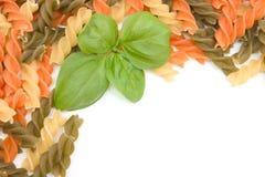 ζωηρόχρωμα ζυμαρικά πλαι&sigma Στοκ εικόνα με δικαίωμα ελεύθερης χρήσης