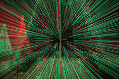 Ζωηρόχρωμα θολωμένα bokeh φω'τα απεικόνιση αποθεμάτων