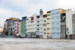 Ζωηρόχρωμα διαμερίσματα μέσα κεντρικός Στοκ Εικόνες