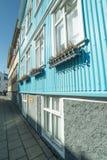 Ζωηρόχρωμα διαμερίσματα πόλεων στο Ρέικιαβικ Στοκ εικόνες με δικαίωμα ελεύθερης χρήσης