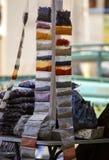 ζωηρόχρωμα καρυκεύματα Στοκ Εικόνες