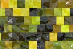 ζωηρόχρωμα κεραμίδια μωσ&alph απεικόνιση αποθεμάτων