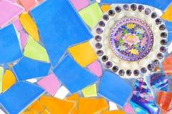 ζωηρόχρωμα κεραμίδια μωσ&alph Στοκ εικόνα με δικαίωμα ελεύθερης χρήσης