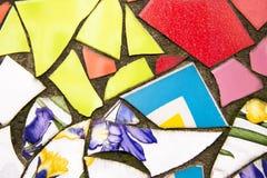 Ζωηρόχρωμα κεραμίδια στο εκλεκτής ποιότητας ύφος Στοκ φωτογραφίες με δικαίωμα ελεύθερης χρήσης