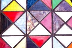 Ζωηρόχρωμα κεραμίδια στο εκλεκτής ποιότητας ύφος Στοκ Εικόνες