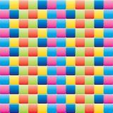 ζωηρόχρωμα κεραμίδια Στοκ Εικόνες