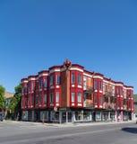 Ζωηρόχρωμα κτήρια στο Μόντρεαλ Στοκ Εικόνα