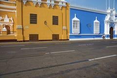 Ζωηρόχρωμα κτήρια του Περού Στοκ φωτογραφία με δικαίωμα ελεύθερης χρήσης