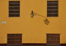 Ζωηρόχρωμα κτήρια του Περού Στοκ Εικόνες
