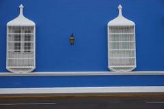 Ζωηρόχρωμα κτήρια του Περού Στοκ φωτογραφίες με δικαίωμα ελεύθερης χρήσης
