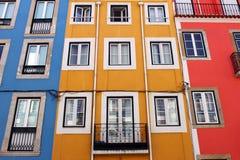 Ζωηρόχρωμα κτήρια Στοκ εικόνα με δικαίωμα ελεύθερης χρήσης