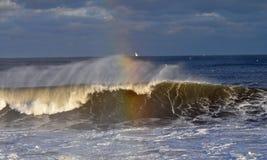 Ζωηρόχρωμα κύματα Στοκ Εικόνες