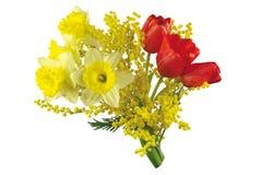ζωηρόχρωμα λουλούδια ανθοδεσμών Στοκ εικόνα με δικαίωμα ελεύθερης χρήσης