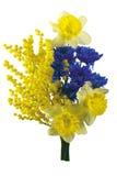 ζωηρόχρωμα λουλούδια ανθοδεσμών Στοκ Εικόνες