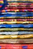 ζωηρόχρωμα μαντίλι Στοκ φωτογραφία με δικαίωμα ελεύθερης χρήσης